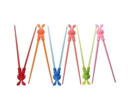 Cartoon Chopsticks Voor Kinderen