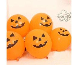 Grappige Halloween Ballonnen 100 Stuks