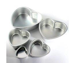 Hartvormige Bakvormen Aluminium