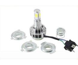 H4 LED Lamp Voor Motor
