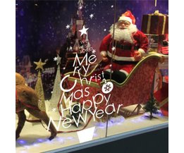 Wandstickers Tekst Kerst