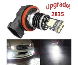 H16 LED Canbus Mistlamp 2835 15-SMD voor Japanse Auto