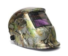 Automatische Lashelm Met Camouflage Patroon