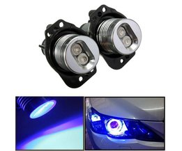 Angel Eyes Lampen LED Blauw voor BMW E90 en E91