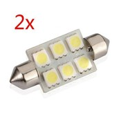 LED Auto Verlichting Per Twee Stuks