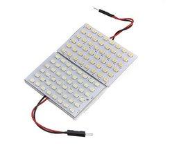 Auto Interieurverlichting LED plaatje met Wit Licht