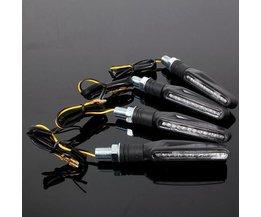 Richtingaanwijzers Voor Een Motor