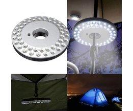 Ronde Kampeerlamp Met LED Licht