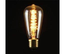 E27 Vintage LED Gloeilamp 40W