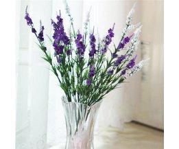 Mooie Lavendel Kunstbloemen van Zijde