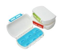 Pillenbox met Zes Vakjes