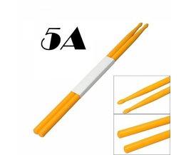 Een Paar Duurzame 5A Drumsticks van Nylon