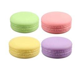 Macaron met Lipgloss
