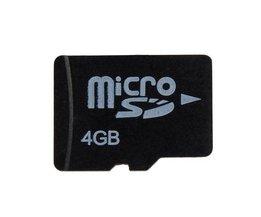 Micro SD Kaart 4 GB