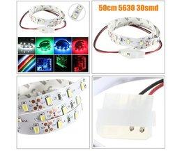Flexibele Niet Waterdichte LED-Strip 50CM 12V