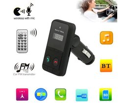 FM Bluetooth Transmitter Handsfree