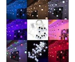 Gekleurde LED Lichtslinger 110V