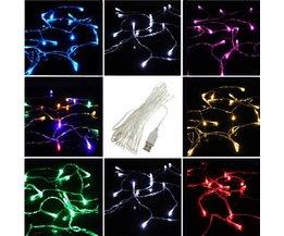 USB Koord met 20 LED Lichtjes