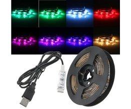 Waterdichte LED Strip met USB 50/100/150/200 cm