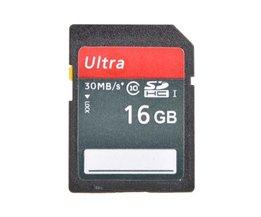 SD 16GB Class 10 SD Kaart
