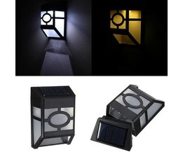 Buitenverlichting Op Zonne Energie Met Sensor