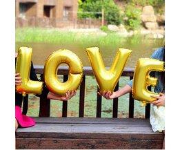 Love Ballon In Verschillende Kleuren