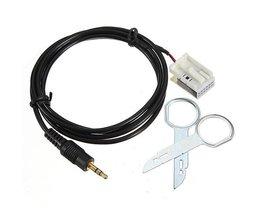 Auto AUX Kabel Naar 3,5mm