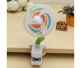 Kleine Ventilatoren met Clip
