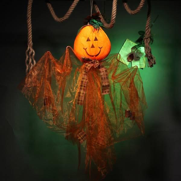Halloween Decoratie Bestellen.Halloween Decoratie Hangend Spook