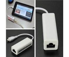 Micro USB naar Ethernet Adapter