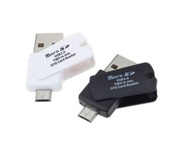 2-in-1 USB 2.0 Kaartlezer