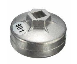 Oliefiltersleutel 65 mm 14-kant