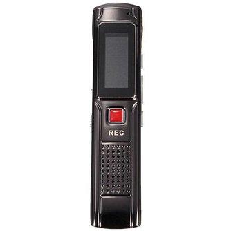 8GB Digitale Audio Voice Recorder met MP3-speler