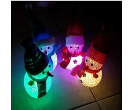 Sneeuwpop Lampje