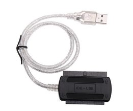 USB 2.0 Mannelijk naar IDE Kabel
