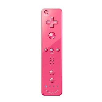 Roze Motion Plus Afstandsbediening voor Wii & Wii U