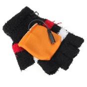 Handschoenen met USB Verwarming Zonder Vingertoppen.