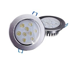 Dimbare LED Inbouwspot (9W)