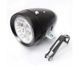 LED Koplamp Fiets Retro Stijl