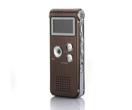 Digitale Spraakrecorder en MP3 Speler 8GB