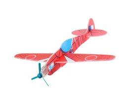 Speelgoed Vliegtuig van Bubbelpapier