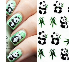 Nageldeco Panda