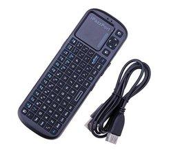2.4G Mini Draadloos Toetsenbord voor Pcduino Raspberry Pi