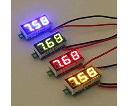 Digitale Mini Voltmeter