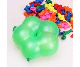 Ballonnen Set in Bloemvorm