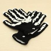 Halloween Handschoenen met LED