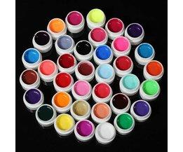 UV Gel voor de Nagels in 36 Kleuren