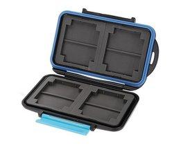 Anti-shock Waterproof SD Kaart Opslag Case