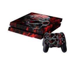 Vampier Schedel Sticker voor PS4