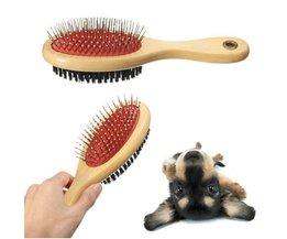 Dubbelzijdige Hondenborstel